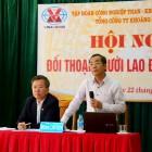 Hội nghị đối thoại với người lao động Công ty CP Gang thép Cao Bằng