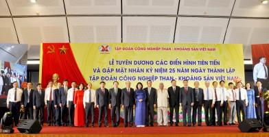 TKV gặp mặt và tuyên dương các điển hình tiên tiến nhân kỷ niệm 25 năm ngày thành lập