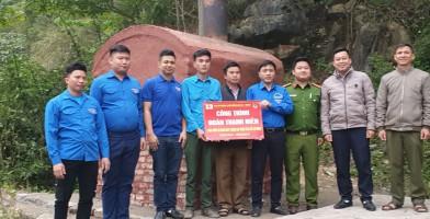 Đoàn Thanh niên Chi nhánh Luyện đồng Lào Cai – VIMICO: Trao tặng Lò xử lý rác thải cho xã Tả Gia Khâu