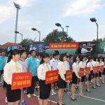Tiếng Việt Khai mạc Giải quần vợt phong trào Vinacomin 2013