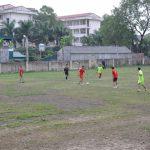 Giao hữu bóng đá giữa ĐTN Cơ quan Tổng công ty và Công ty CP Kim loại màu Thai Nguyên