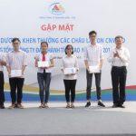 Tuyên dương, khen thưởng các cháu là con CNVCLĐ trong Tổng công ty đạt thành tích cao năm học 2016-2017