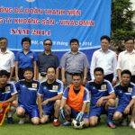 Sôi nổi giao lưu bóng đá của Đoàn viên thanh niên Tổng công ty Khoáng sản -Vinacomin