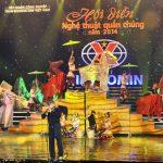 Đội nghệ thuật quần chúng TCTy Khoáng sản – Vinacomin đoạt giải Nhì các đội mạnh Hội diễn Nghệ thuật quần chúng TKV năm 2014