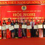 35 tập thể và 234 nữ CNVCLĐ xuất sắc trong phong trào Hai giỏi được Tổng Giám đốc tặng thưởng