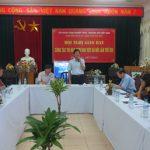 Giao ban công tác thi đua cụm khu vực Hà Nội lần thứ XIII