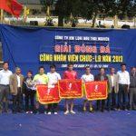 Giải bóng đá CNVCLĐ Công ty Kim loại màu Thái Nguyên năm 2013