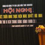 Đảng bộ Công ty KLM Thái Nguyên học tập, quán triệt, triển khai Nghị quyết TW8 của Đảng