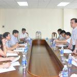 Công đoàn TKV làm việc với Công đoàn các đơn vị về thực hiện công tác AT-VSLĐ