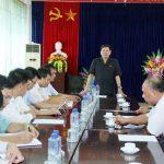 Đoàn đại biểu Quốc hội tỉnh Lào Cai làm việc tại Công ty Luyện đồng Lào Cai