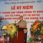 Lễ kỷ niệm 20 năm thành lập TCT Khoáng sản-TKV và đón nhận Huân chương Lao động hạng Nhất