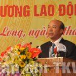 Đảng bộ Than Quảng Ninh đón nhận Huân chương Lao động hạng Nhất