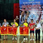TCT Khoáng sản tổ chức thành công giải bóng chuyền nam, nữ phong trào năm 2014