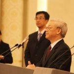 Phát biểu của TBT Nguyễn Phú Trọng với thanh niên 2 nước Việt – Trung