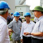 Tổng Giám đốc Đặng Thanh Hải làm việc với các đơn vị khoáng sản tại Cao Bằng