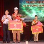 """Chi nhánh Luyện đồng Lào Cai đoạt giải Nhất Hội thi """"Tìm hiểu Luật Phòng cháy, chữa cháy"""""""