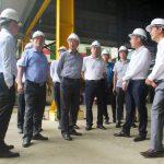 Phó Tổng Giám đốc Tập đoàn Nguyễn Anh Tuấn kiểm tra tình hình sản xuất tại một số đơn vị khai thác khoáng sản trên địa bàn tỉnh Lào Cai