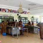 Chi nhánh Luyện đồng Lào Cai Chú trọng nâng cao chất lượng bữa ăn ca cho người lao động