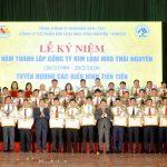 Công ty CP Kim loại màu Thái Nguyên – VIMICO kỷ niệm 40 năm ngày thành lập