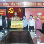 Tập đoàn Công nghiệp Than – Khoáng sản Việt Nam góp sức cùng các địa phương phòng chống dịch bệnh COVID – 19