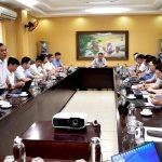 Tổng Giám đốc TKV làm việc với các đơn vị tại Lào Cai