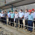 Lãnh đạo tỉnh Lào Cai Kiểm tra công tác đầu tư xây dựng và hoạt động của một số đơn vị thuộc Tổng công ty Khoáng sản – TKV tại huyện Bát Xát,  tỉnh Lào Cai